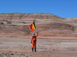 Belgium on Mars!